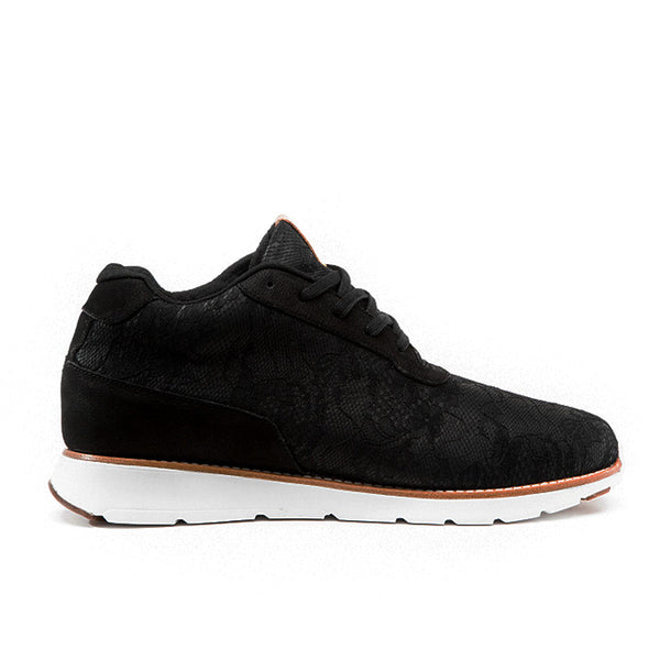CRDWN shoe - Grandin black lace footwear