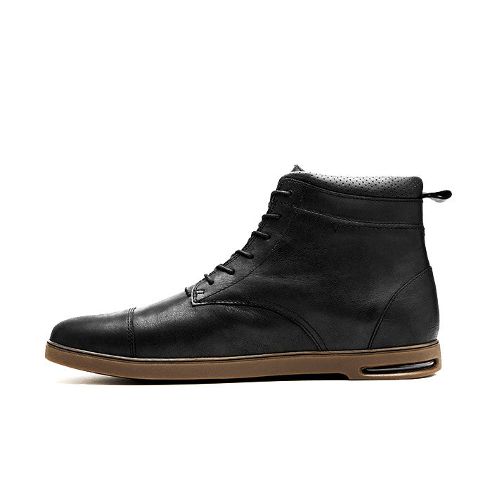 CRDWN footwear - rookwood black boot