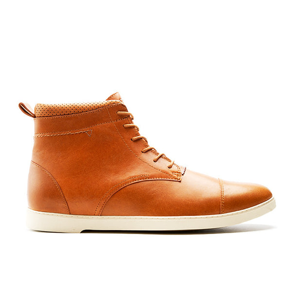 CRDWN footwear - rookwood camel boot