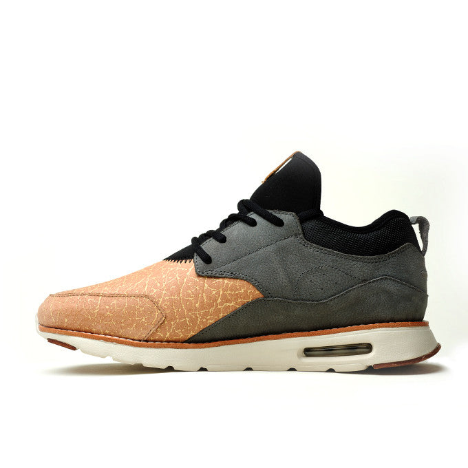CRDWN footwear - wasson gray salmon shoe