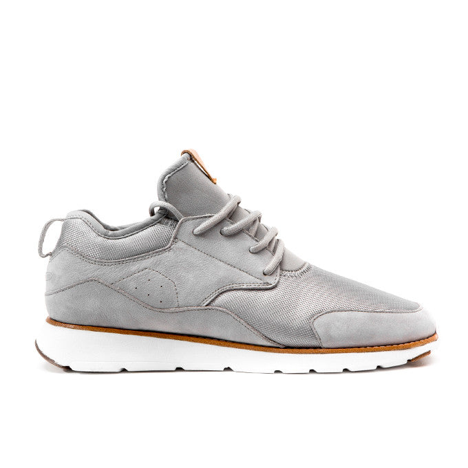 CRDWN footwear - wasson silver shoe