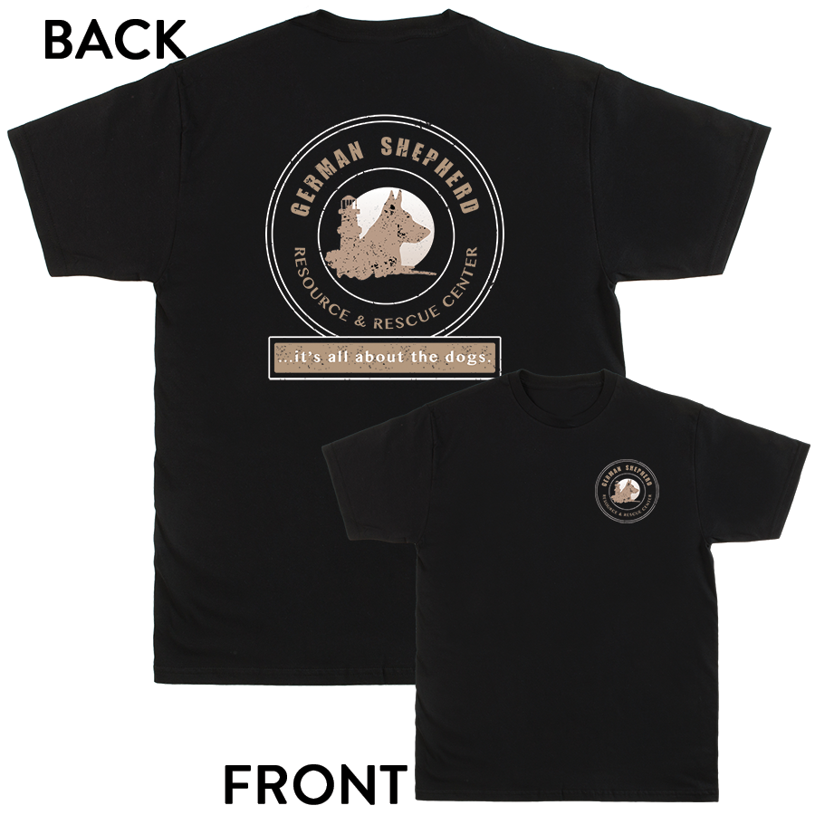 German Shepherd Resource and Rescue Center - Logo Shirts