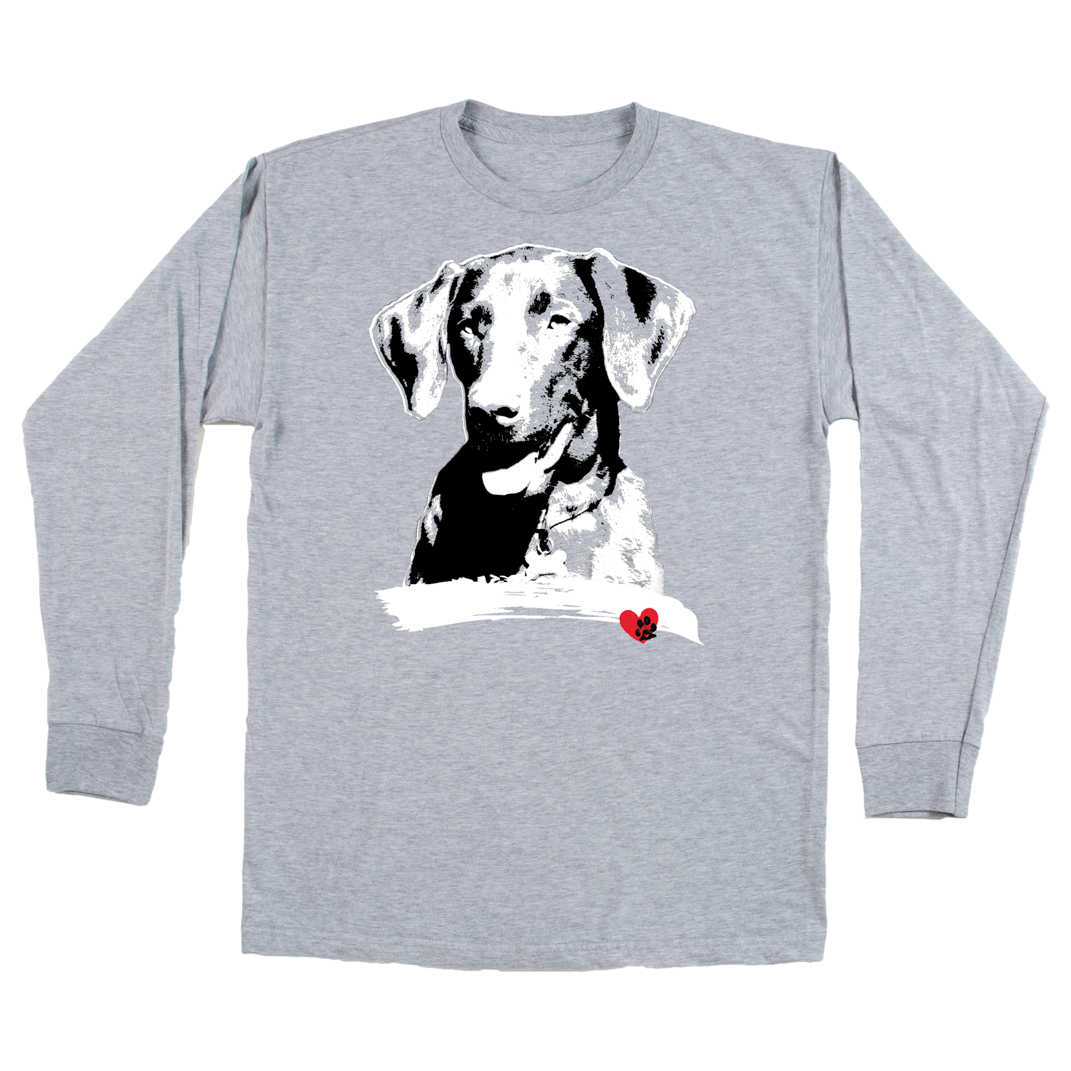 Labrador Grey Long Sleeve