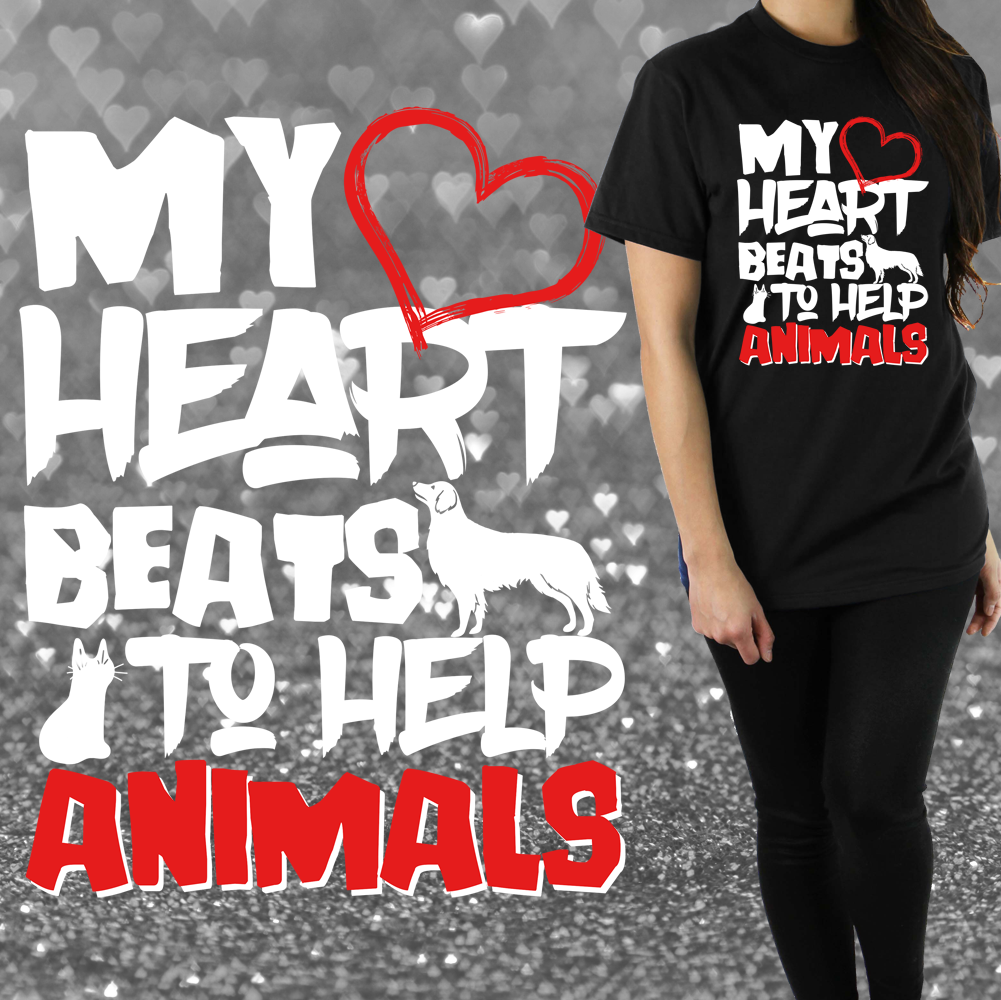 My Heart Beats to Help Animals