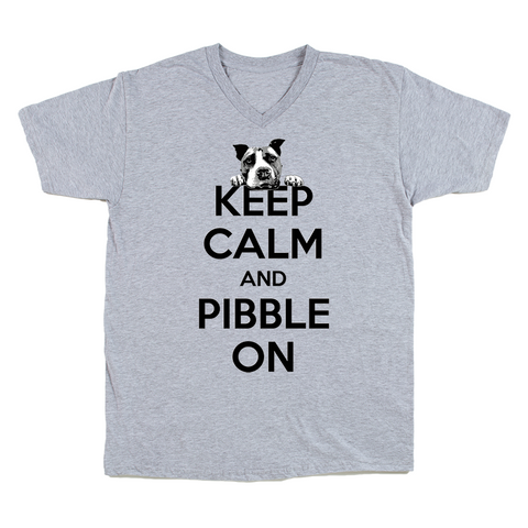 Keep Calm and Pibble On