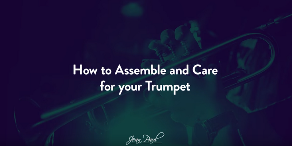 How to clean your Jean Paul USA Trumpet