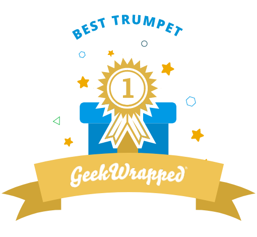 Voted Best Trumpet on Geekwrapped.com!