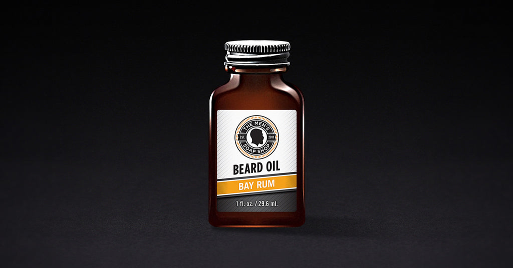Beard Oil Bay Rum (case of 5) with Tester