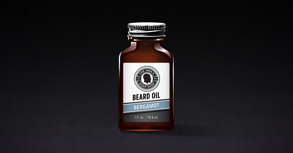 Beard Oil Bergamot (case of 5) with Tester