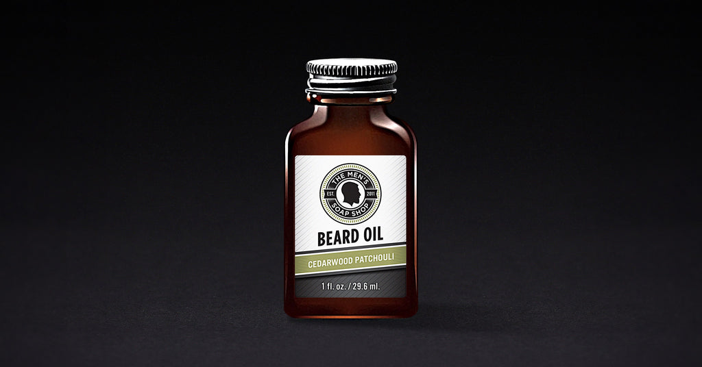 Beard Oil Cedarwood Patchouli (case of 5) with Tester