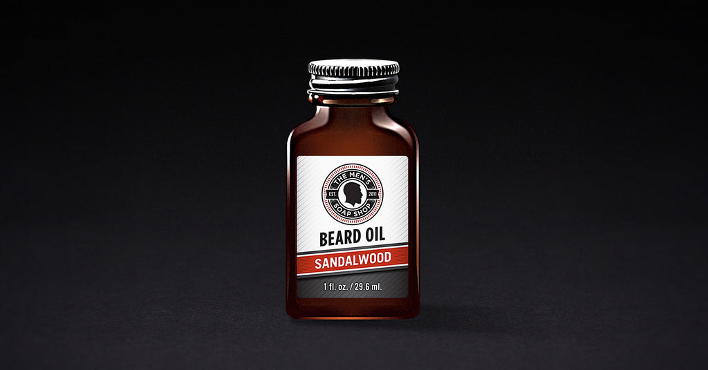 Beard Oil Sandalwood (case of 5) with Tester
