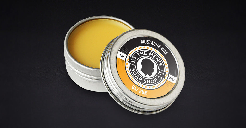 Beard Mustache Wax Bay Rum (case of 5) with Tester