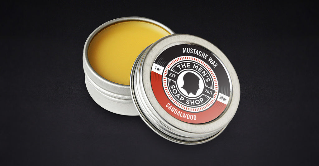 Beard Mustache Wax Sandalwood (case of 5) with Tester