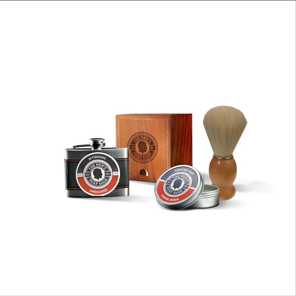 Shaving Alpha Set Sandalwood (case of 5) with Tester