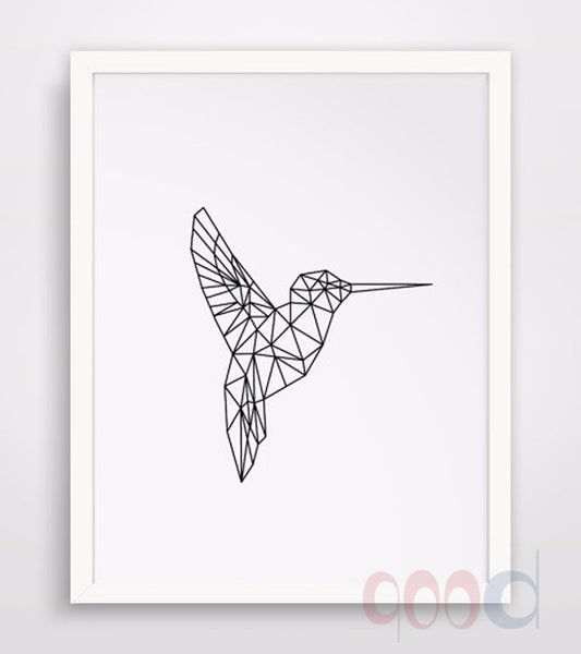 Flying Bird Canvas Poster
