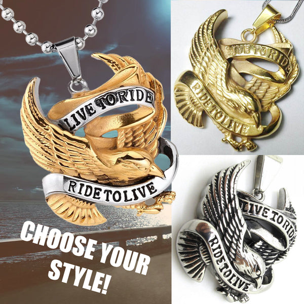 Live To Ride, Necklace