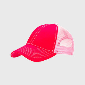 TR-022 Plain Stitch Trucker Cap