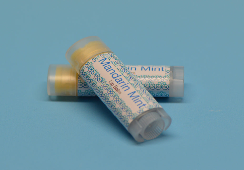 Mandarin Mint Lip Balm