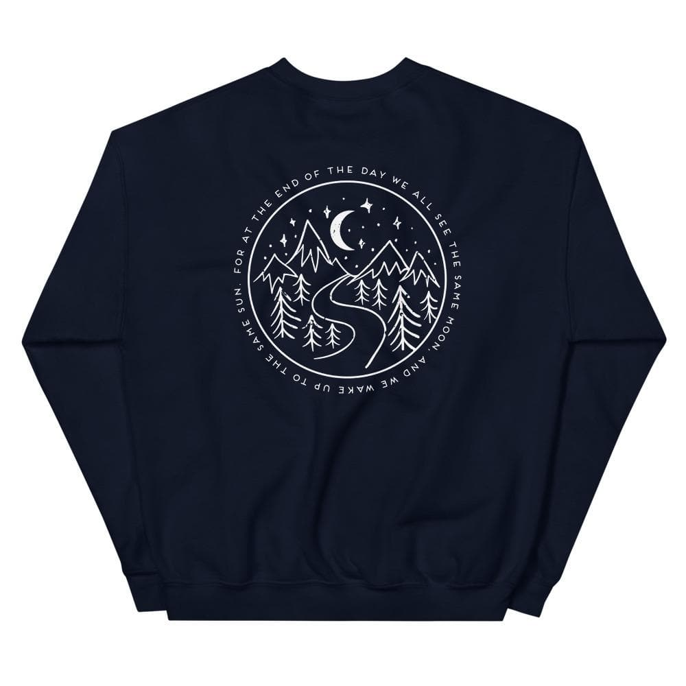 At the End of the Day - Crewneck crewneck Woof & Wild
