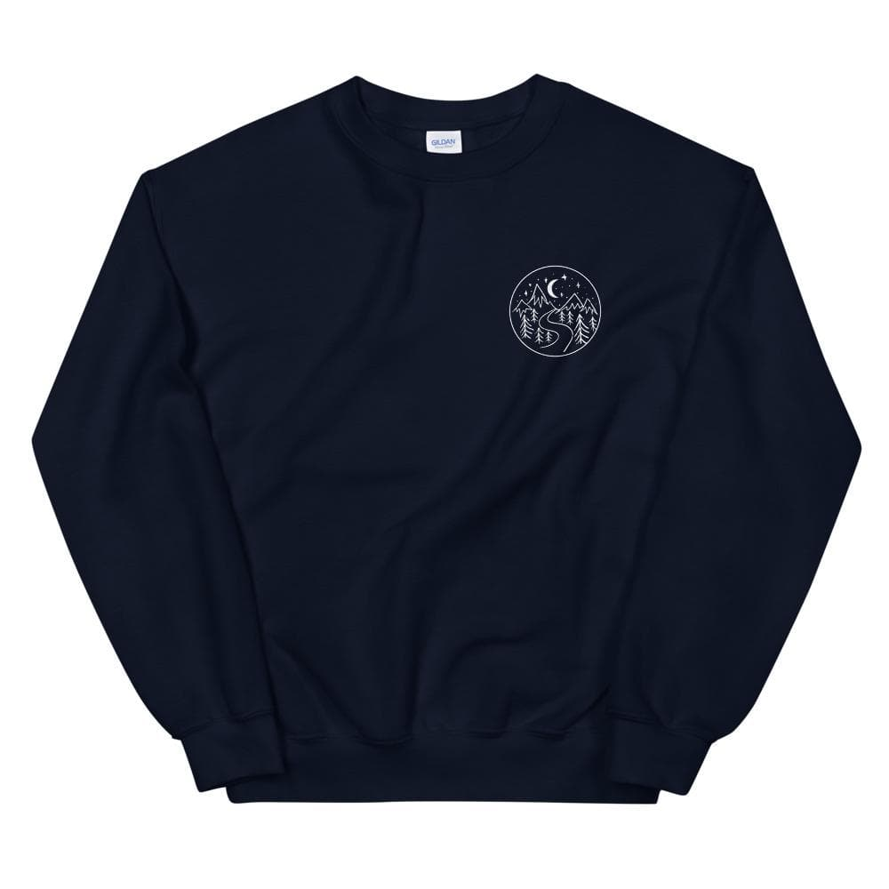 At the End of the Day - Crewneck crewneck Woof & Wild S