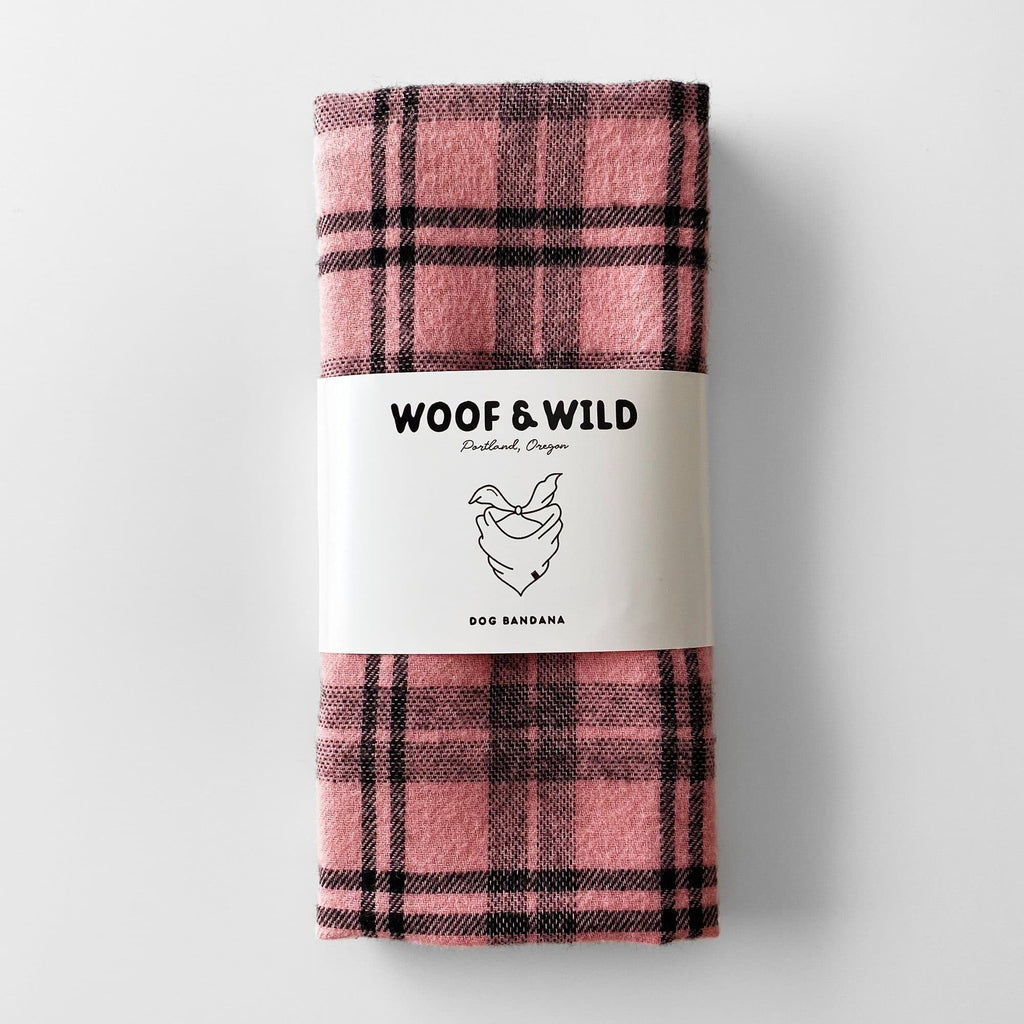 Dusty Dog Bandana Woof & Wild