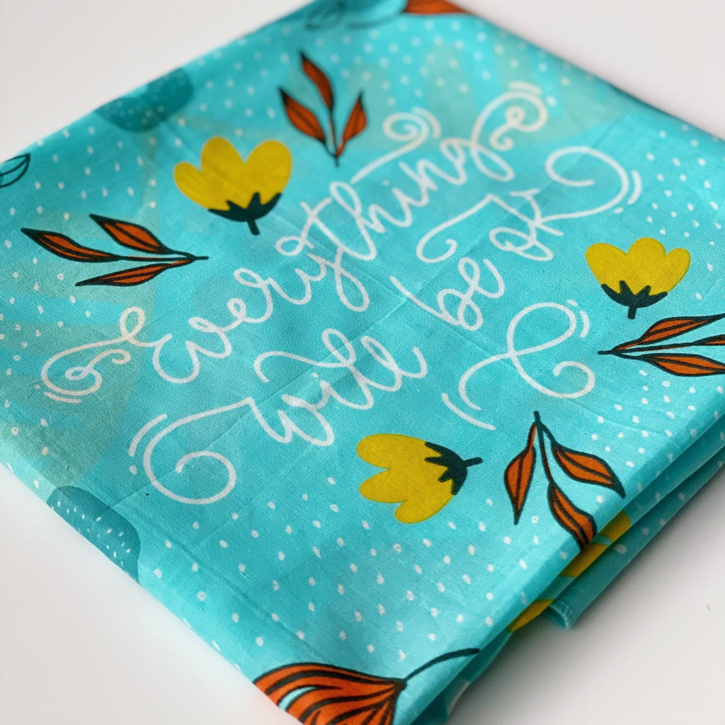 Everything Will Be Ok (Pre-Order) bandana Woof & Wild