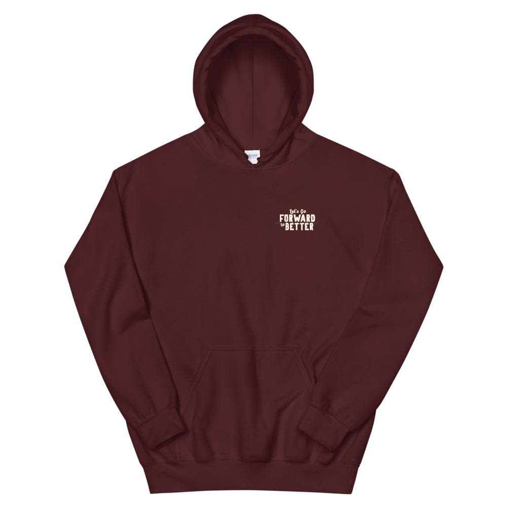 Forward to Better - Hoodie hoodie Woof & Wild Maroon S