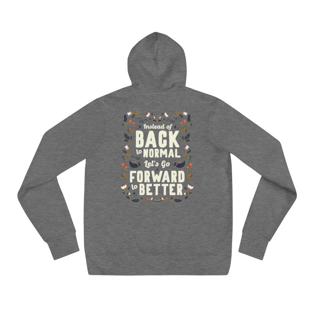 Forward to Better - Premium Hoodie hoodie Woof & Wild