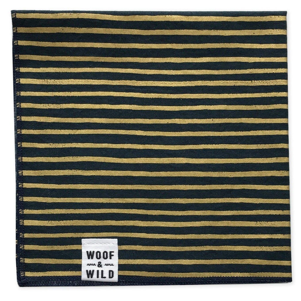 Midnight Modern Dog Bandana Woof & Wild