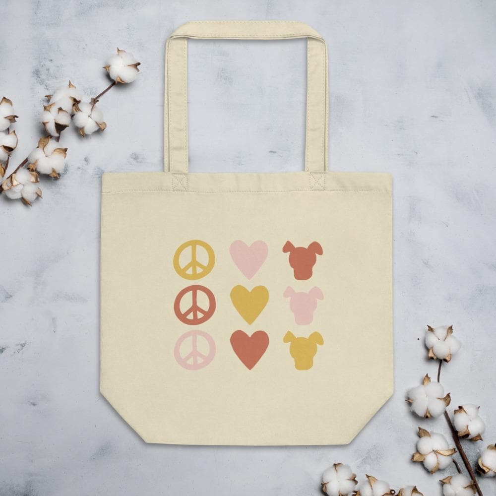 Peace Love & Dogs Icon Tote Woof & Wild