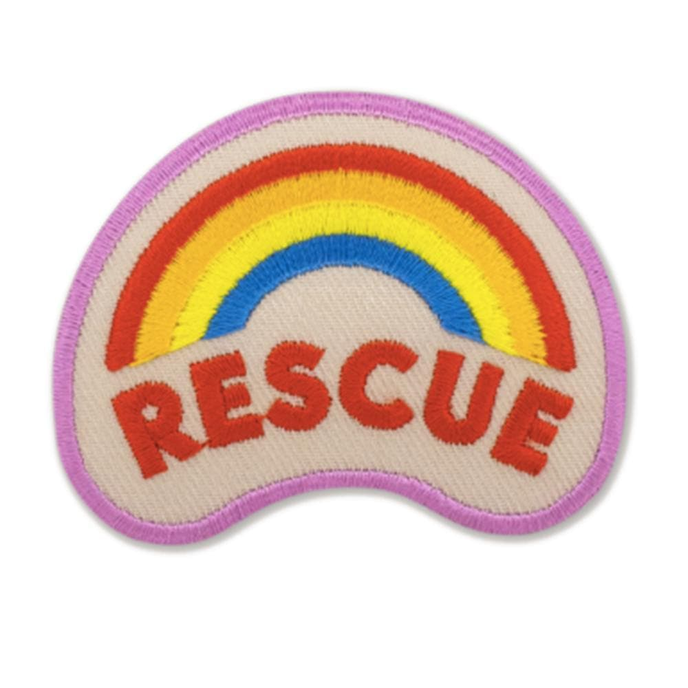 Rescue badge Woof & Wild