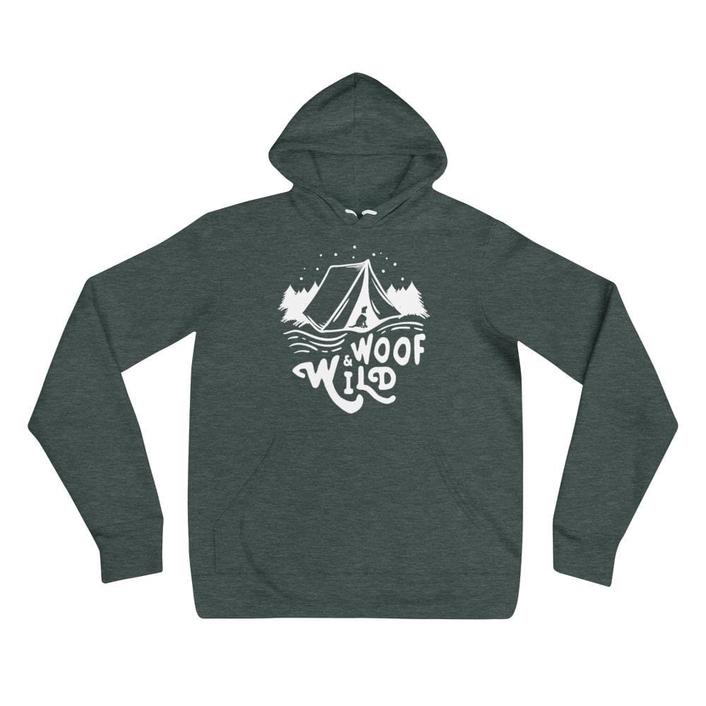 Woof & Wild Camp Hoodie hoodie Woof & Wild Heather Forest S