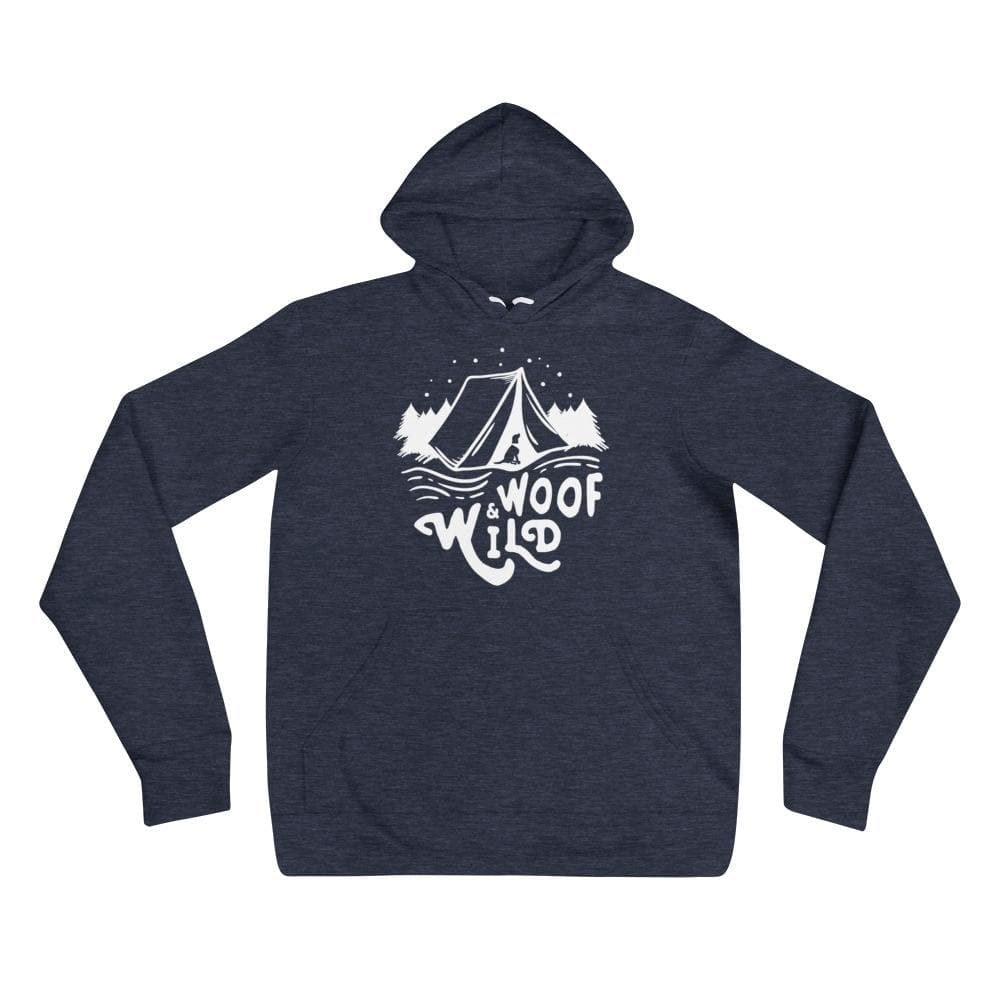 Woof & Wild Camp Hoodie hoodie Woof & Wild Heather Navy S
