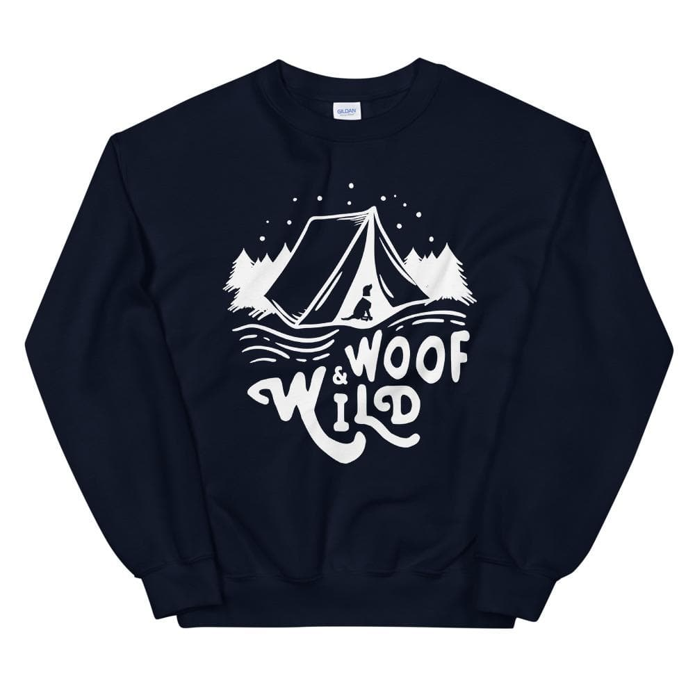 W&W Camp Crewneck sweatshirt Woof & Wild Navy S
