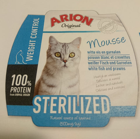 Arion Mousse Sterilized 70g