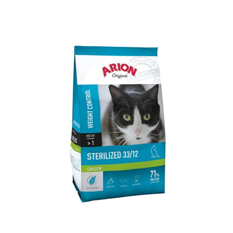 Arion Orginal Sterilized Weight Control Chicken 2kg