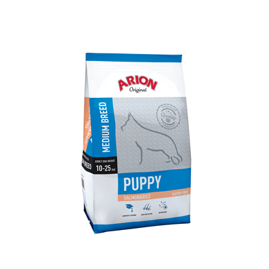 Arion Puppy Medium Breed Salmon & Rice 12kg