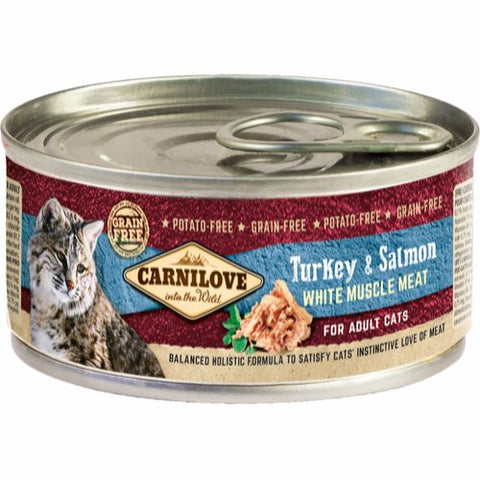 Carnilove Turkey & Salmon Adult Cat 100g