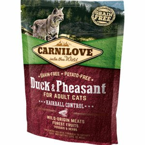 Carnilove Duck & Pheasant Hairball Control Adult 6kg