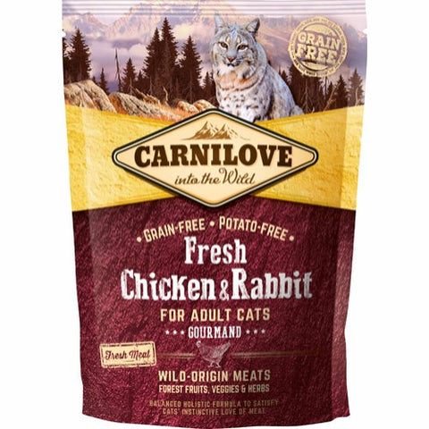 Carnilove Fresh Chicken & Rabbit Gourmand Adult 400g