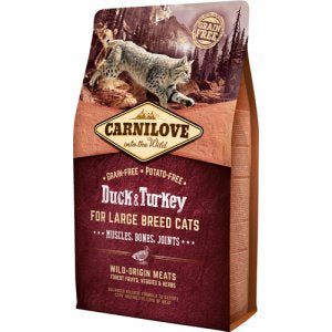 Carnilove Duck & turkey Large Breed Adult 6kg