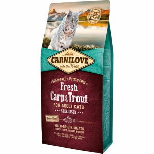 Carnilove Fresh Carp & Trout Sterilised Adult 6kg