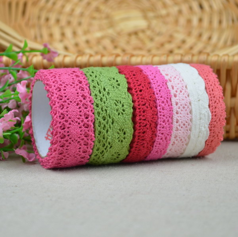 30 Yard Random Cotton Lace Fabric DIY Garment Craft Material