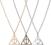 Deathly Hallows Harry Potter Triangle Necklace
