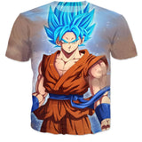 Dragon Ball Z Goku 3D T-Shirt - Benzi Shop