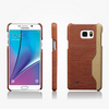 Fiber Carbon Back Cover For Samsung Galaxy Note with Card Holder