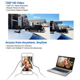 Newest White HD Mini Wifi IP Camera Wireless - Benzi Shop - 5