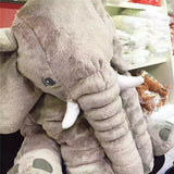 2016 New Arrival 60CM One Piece Gray Elephant Plush Doll With Long Nose - Benzi Shop