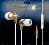 Original Langsdom M300 Metal Super Bass In-ear Earphones - Benzi Shop