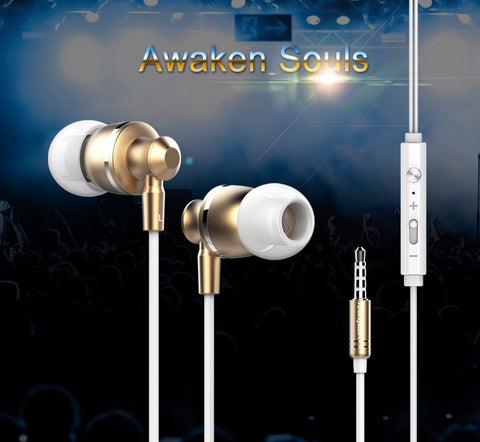 Original Langsdom M300 Metal Super Bass In-ear Earphones